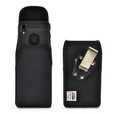 iPhone XR 2018 Turtleback Belt Clip Vertical Black Nylon Rotating Case Clip