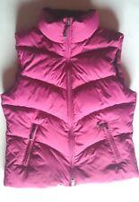Esprit ESP Sports Daunenweste burgund rot 36 S Basic Fleece extra warm NEUw