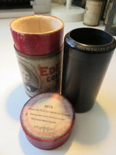 Edison Bell Gold Molded BLACK WAX Phonograph Cylinder ~No.9879 ~ Duet ~ 1908