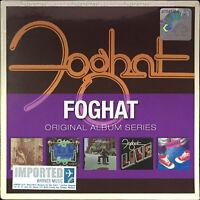 FOGHAT Original Album Series 2009 MALAYSIA EU EDITION 5 CD SET NEW FREE SHIPMENT