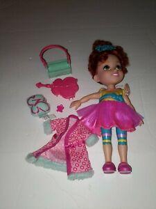 Fancy Nancy Disney Junior Classique Doll, 10 Inches Tall & accessories