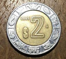 PIECE DE 2 PESOS MEXIQUE 2005 (164)