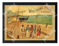 Historic Whelpton's Pills & Ointment, c.1880-1900 Advertising Postcard