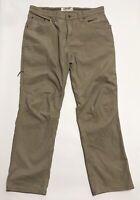 Mountain Khakis Men's Classic Fit M's Camber 106 Beige Canvas Pants Size 36x32