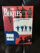 The Beatles Help! Digitally Remastered Cd and T-shirt Size Xl New