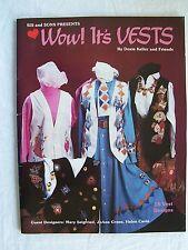 Wow! It's Vests 18 Designs Brush & Sponge Tole Painting Sc 1990 Doxie Keller