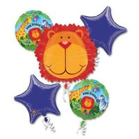 Jungle Safari Animals Balloon Bouquet Birthday party supplies Favor Prizes Decor