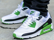 Nike Air Max 90 White/Chlorophyll & Black Men's Trainers in Various Sizes
