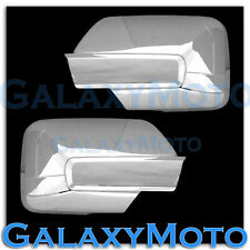 07-14 Ford Expedition Triple Chrome Plated ABS Full Overlay Mirror Cover Trim