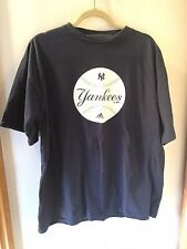 1999 Yankees Adidas T Shirt Large Navy