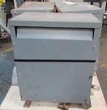 Square D Company Sorgel Transformers Cat 30T3H-CU 40466ISU