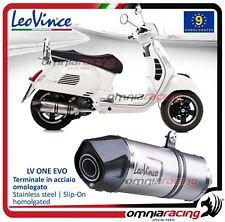 Leovince LV One EVO Echappement complet acier Vespa GTS 300 super 2008>2015