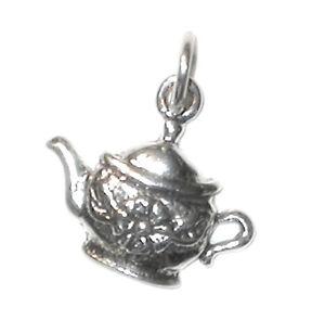 STERLING SILVER CHARM Drink Teapot TEA KETTLE