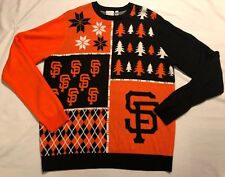 San Francisco Giants MLB Men's Holiday Ugly Christmas Sweater XL