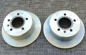 2 x Rear Disc Rotor LDV V80 Van 2.5L Diesel Full Set 2013-on