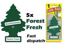 "MAGIC TREE ""LITTLE TREE"" FOREST FRESH CAR AIR FRESHENER PACK OF 5"