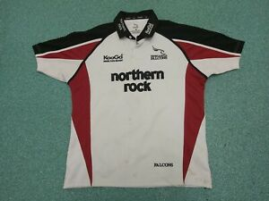 NEWCASTLE FALCONS RUGBY UNION SHIRT New with Tags RRP £50 Large