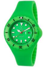ToyWatch Unisex Green Dial and Green Rubber Strap Quartz Watch JYD05GR