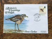 Gb Fdc 1998 Endangered Species, Bird Stone Curlew, Mousehole Postmark