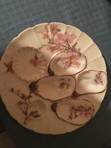 Beautiful Antique Haviland Limoges Oyster Plate MINT CONDITION  11 available