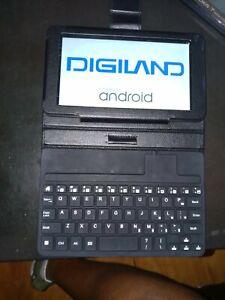 "DigiLand DL7006 KB - 7"" - Tablet - 8GB - Black"