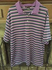 Nice! Men's Size Xl Tiger Woods Collection Polo Golf Shirt Dri-Fit Purple