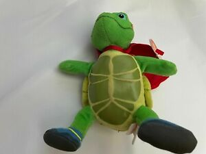 Ty Beanie Baby TUCK the Turtle Nick Jr Wonder Pets highly collectible kids