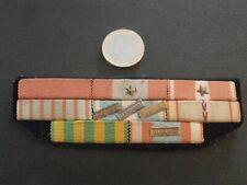 Barrettes de décorations dixmudes 1939-1945, Indochine et Algérie - N° 45