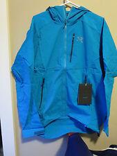 Mens New Arcteryx Gamma SL Hybrid Hoody Jacket Size Large Color Riptide
