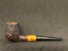 Danish Estates: Stanwell Buffalo (52) Sandblast Straight Billiard Pipe
