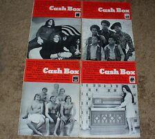 4 Cash Box Magazines from 1970 Led Zeppelin Steam Jackson 5. Winner Gets Choice