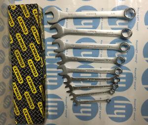 Stanley Chrome Vanadium 9 Piece Spanner Set