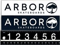 ARBOR SKATEBOARDS STICKER Arbor Collective Skate Snow 6.5 in x 1.75 in Decal