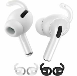 3 Pairs Ear Hook Anti-Slip Premium Silicone Covers Accessories For AirPods Pro