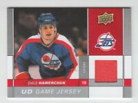 (65887) 2009-10 UPPER DECK UD GAME JERSEY DALE HAWERCHUK #GJ-DH