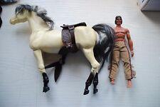 "BIG JIM MATTEL   "" CHIEF TANKUA   & HORSE   "" NICE SET"
