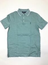 Ralph Lauren -Polo Shirt - Small- Green Custom Slim Fit -*NEW WITH TAGS* RRP £95