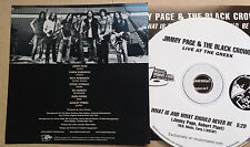 Jimmy Page Black Crowes What Is And What Should Never Be Promo RARE picture