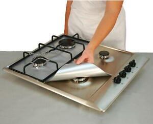 Reusable Gas Hob Protector Non Stick Stove Range Liner Top Cooker Cover