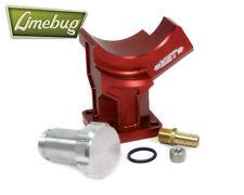VW MST Alternator Generator Stand Plinth Red Billet 12 Volt T1 T2 Ghia Beetle T3