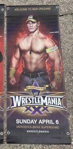 The John Cena Street Banner WWE Wrestlemania XXX New Orleans