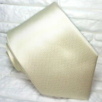 Cravatta grigio-marronemetallico chiaro seta Made in Italy business / matrimoni