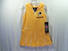 Washington Redskins NFL Hoodie Cheerleader Dress Reebok Infant 3T NEW