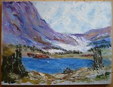 MYSTERY IMPRESSIONIST IMPRESSIONISM OIL PAINTING LANDSCAPE IMPASTO MODERNISM