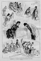 WASHINGTON D. C. CHARACTER SKETCHES IN AND ABOUT THE CAPITAL GUIDE ANGRY DEBATE