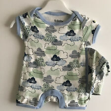 FRENCH CONNECTION BABY BOYS BODYSUIT SET - Size UK0-3MONTHS