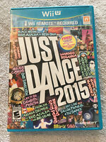 Just Dance 2015 - Nintendo Wii U - COMPLETE - TESTED - PERFECT DISC