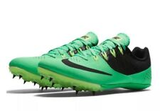 Nike Zoom Rival S 8 Men Track Sprint Spikes 806554 303 Green Size 11.5 NO SPIKES