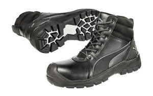 Puma Tornado black 630797 work boots safety work shoes + FREE  3 towels 1450x740