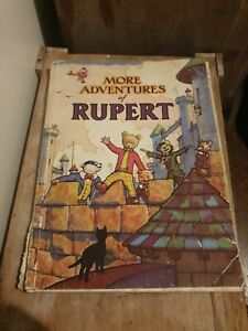 More Adventures of Rupert 1942 - Original Copy - Very Rare
